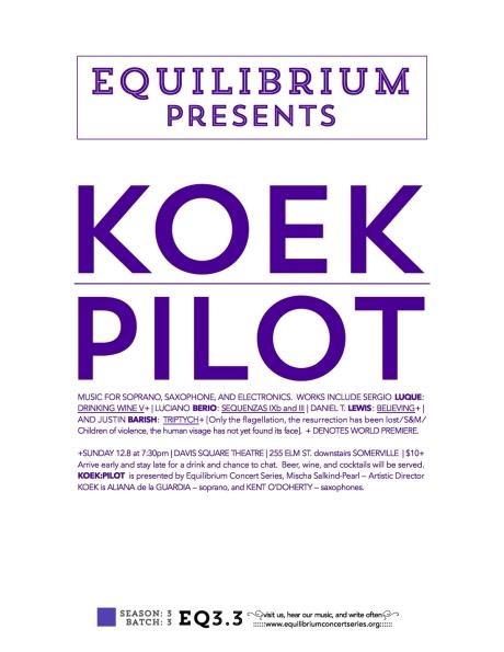 KOEK-PILOT poster